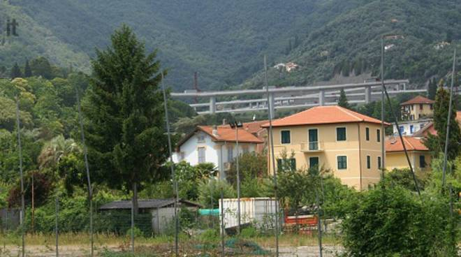 rapallo tracciato tunnel fontanabuona