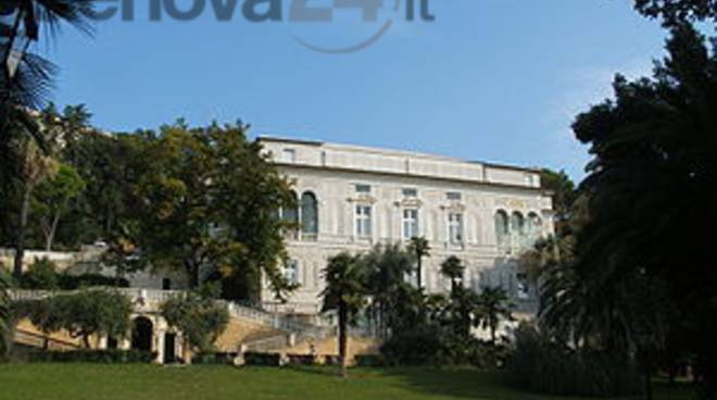 villa imperiale genova parco
