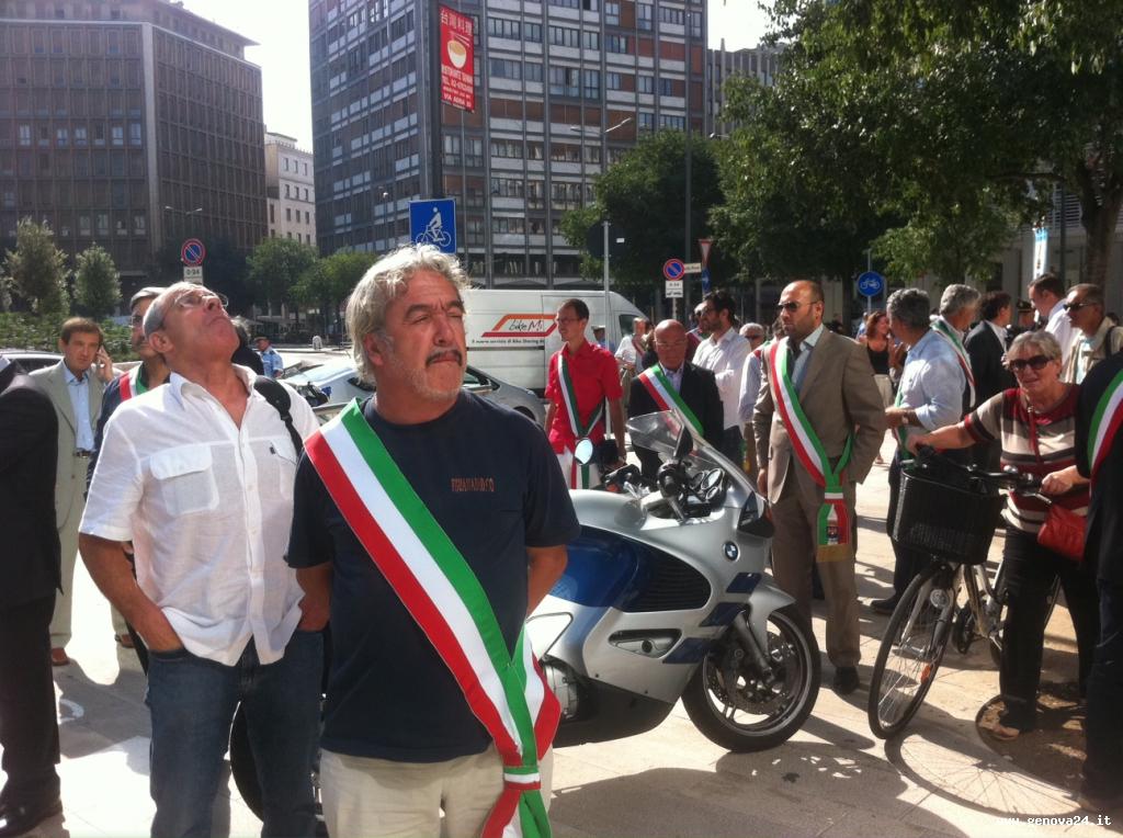 anci liguria - milano - manifestazione