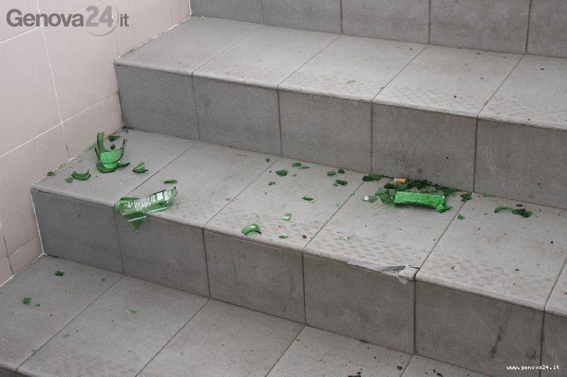 bottiglie bottiglia rotta