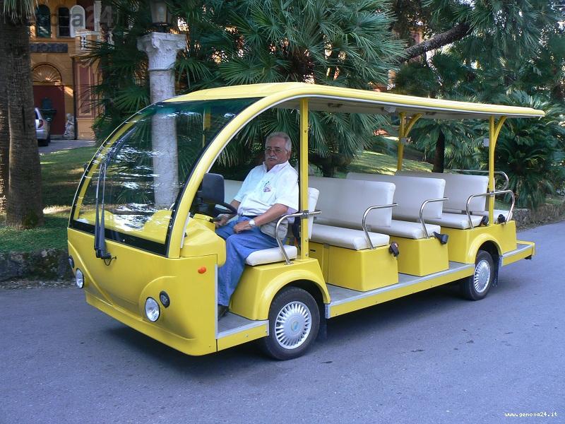 bus elettrico santa margherita