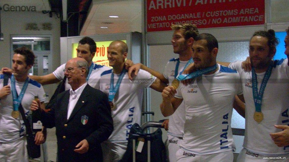 Genova - campioni del mondo pallanuoto