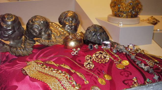 gioielli Museo del Santuario