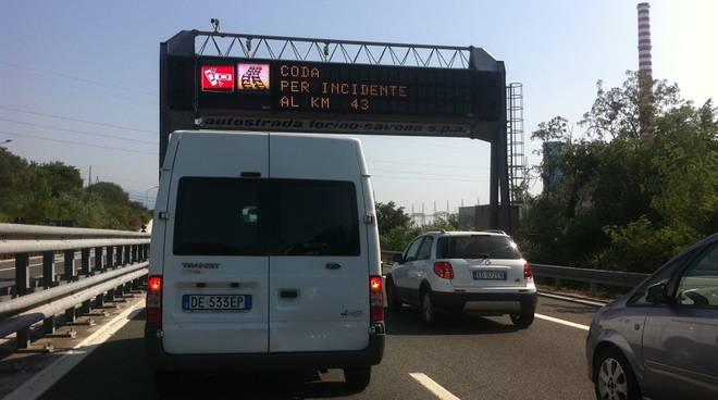 incidente autostrada coda
