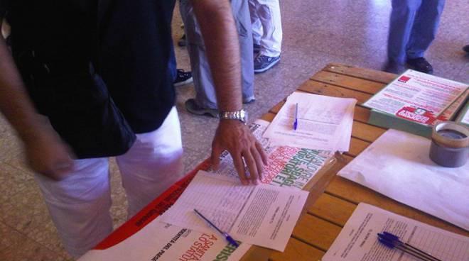 sciopero nazionale cgil raccolta firme