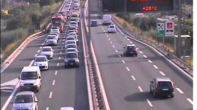 Traffico autostrada Pietra Ligure