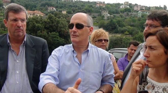 Varazze - protesta casanova visita Gabrielli