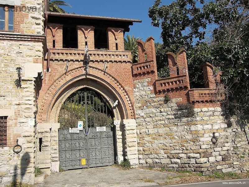 villa tigellius recco