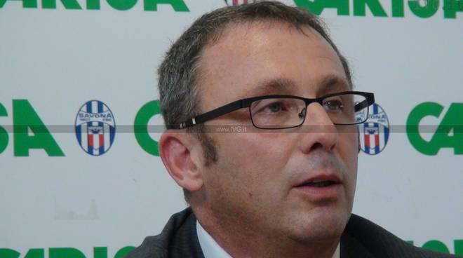 Andrea Pesce - dimissioni presidenza Savona