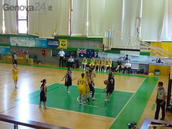 global games basket femminile australia giappone