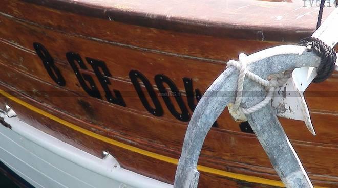 mare, barca a vela, ancora
