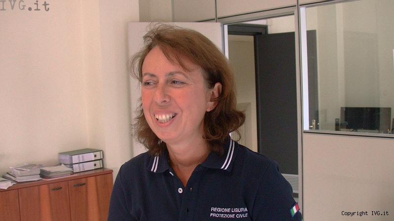 Maria Grazia Gallinotti, Protezione Civile Liguria