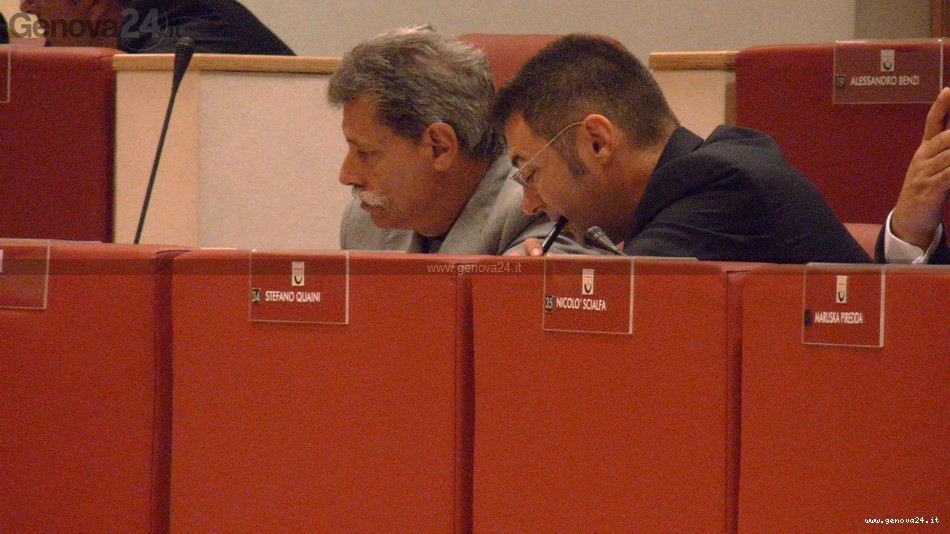 Montaldo - Quaini, consiglio regionale