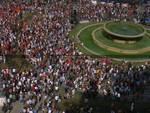 piazza de ferrari - cgil - manifestazione