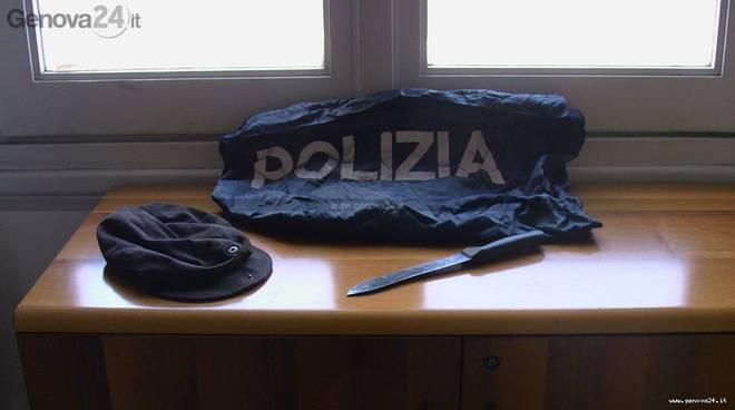 polizia - coltello