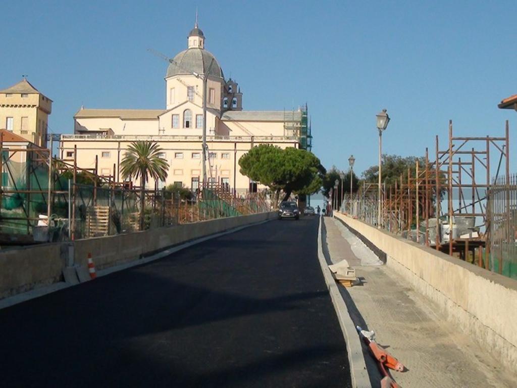 Ponte monumentale Monte Carmelo Loano