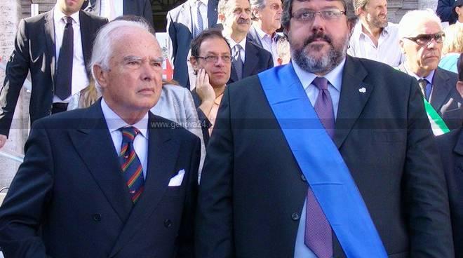 Riccardo Garrone e Angelo Vaccarezza