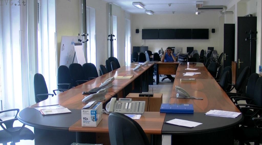 Sala operativa Protezione Civile Liguria