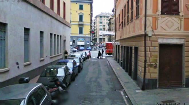 Savona, via Mistrangelo zona Caritas