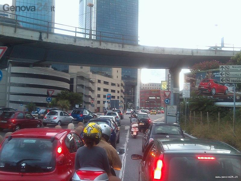 traffico coda