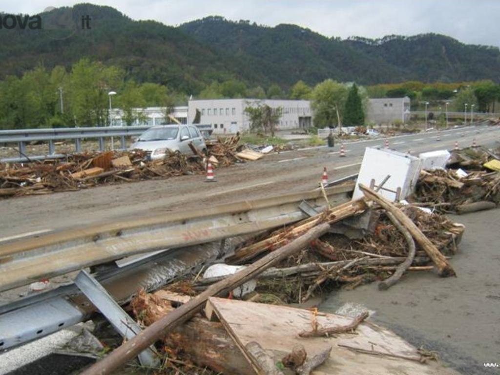a12 alluvione