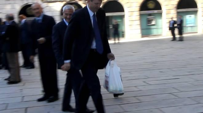 Burlando, trofie a Napolitano