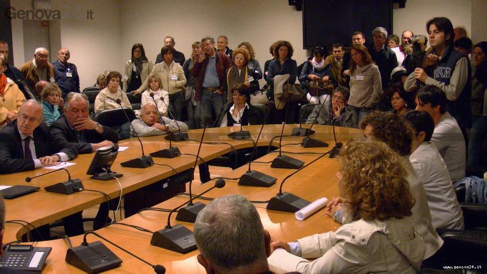 Consiglio Regionale incontro contro chiusura Gallino