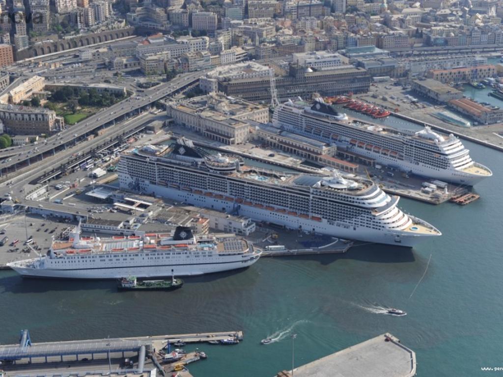 msc crociera - terminal traghetti - porto di genova