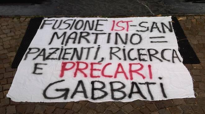 protesta precari san martino