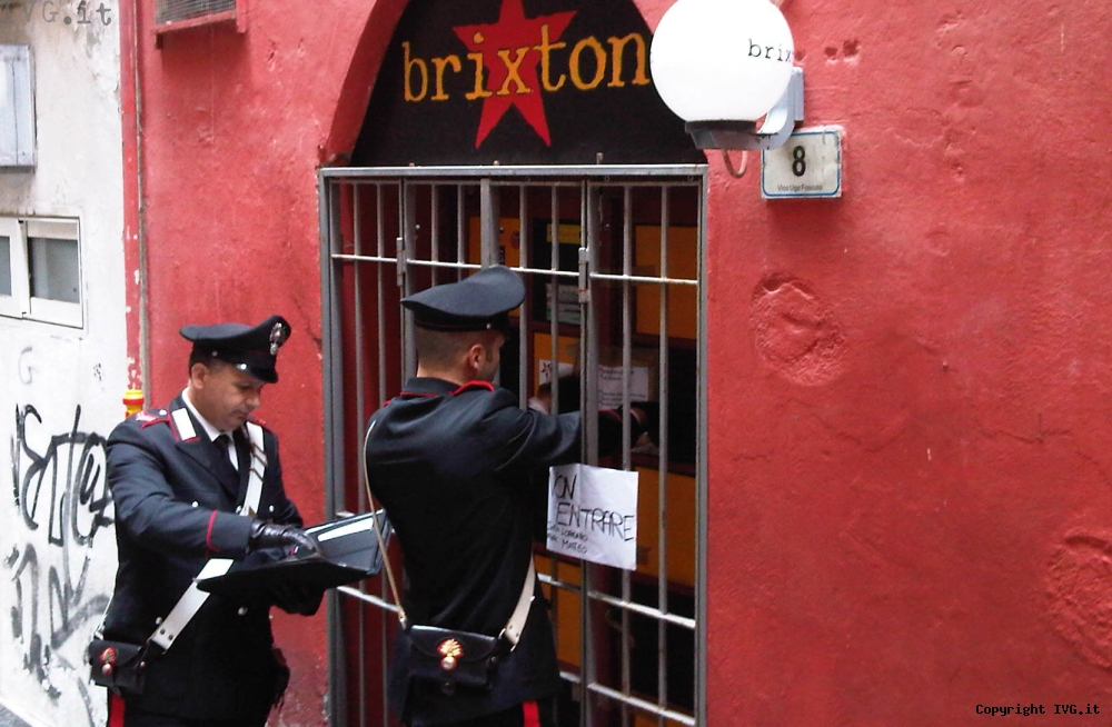 Sequestro Brixton Alassio