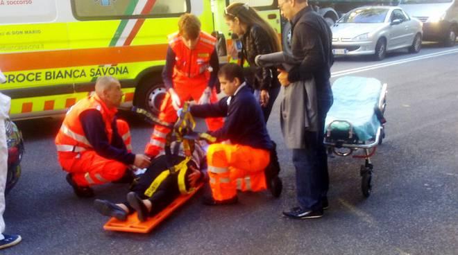 Soccorso incidente Savona