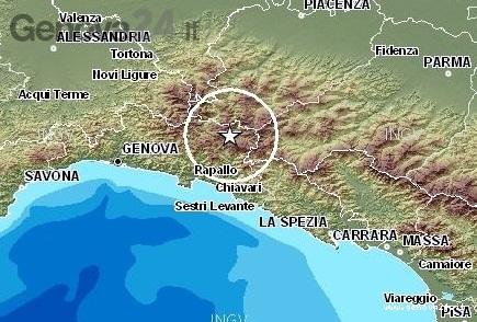 terremoto val trebbia