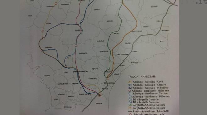 Albenga Predosa progetto