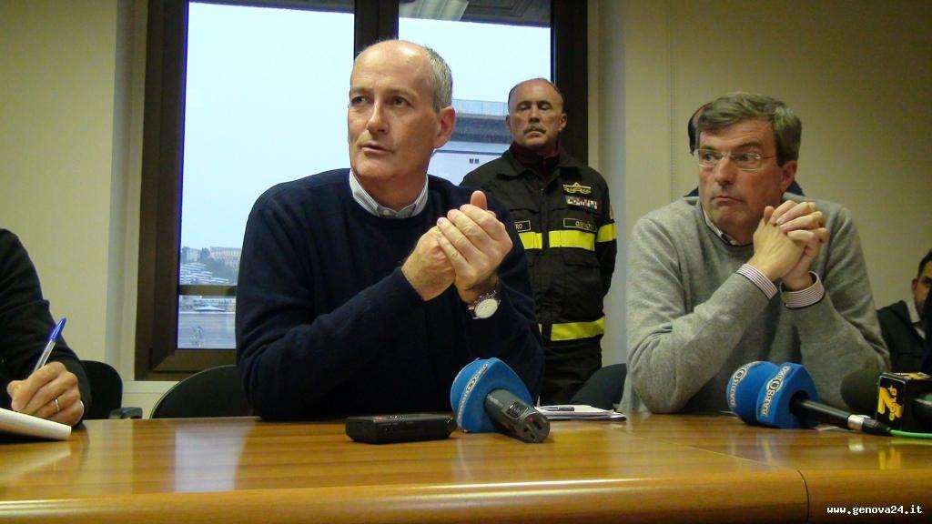 alluvione Genova burlando gabrielli