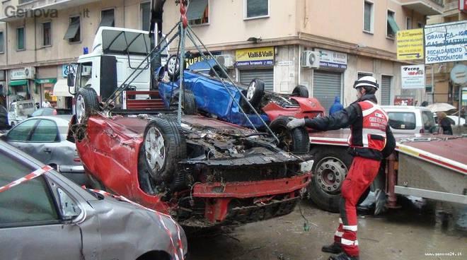 Alluvione Genova il day after