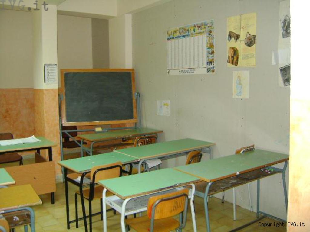 aula, scuola, elementari