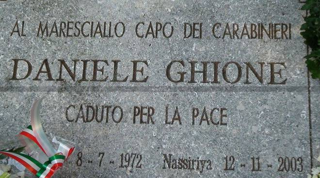 Cerimonia finale Ligure Ghione