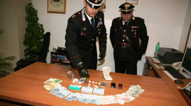 cocaina alassio carabinieri