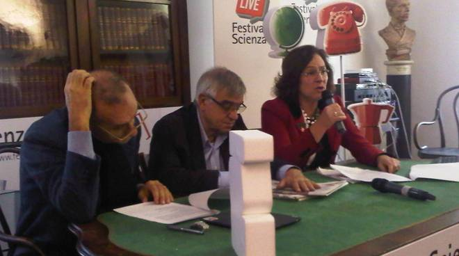 festival scienza, ranieri, Manuela Arata e Vittorio Bo