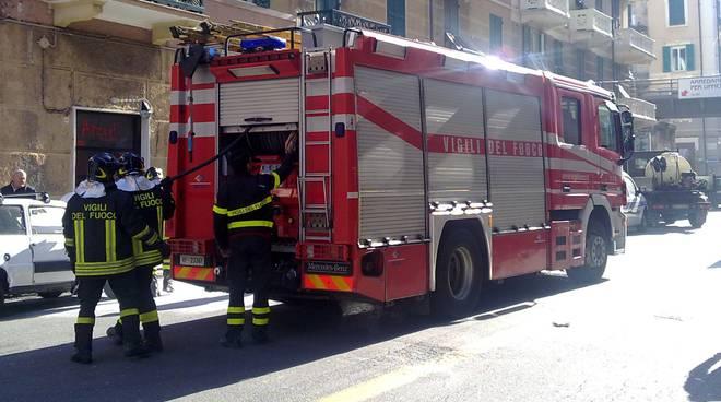 Vigili del fuoco Savona