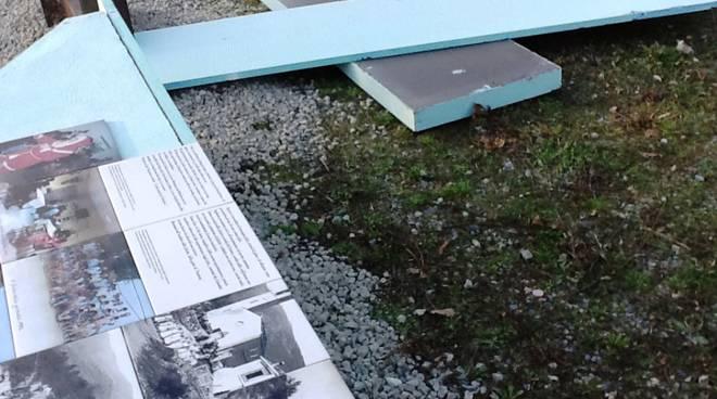 Atti vandalici contro Archivio della Felicità Vendone
