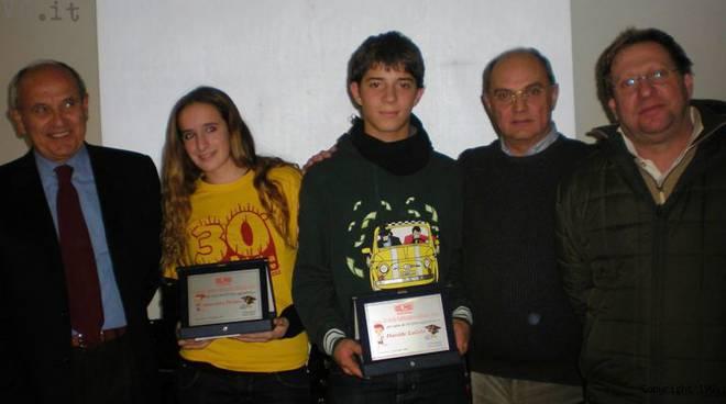 Celle, Meeting Arcobaleno Scuola: riconoscimenti a Benedetta Piombo, Davide Laiolo