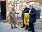 comico Carlo Denei, Gino Rapa e assessore Vannucci
