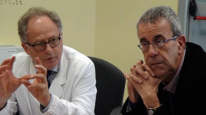 Filippo Falchero e Alberto Artom