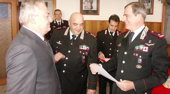 Generale Scoppa al comando di Savona