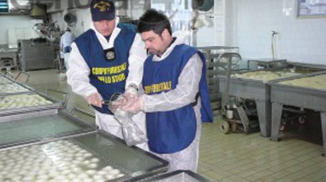 guardia forestale controlli mozzarella