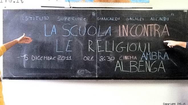 Incontro interreligioso Albenga