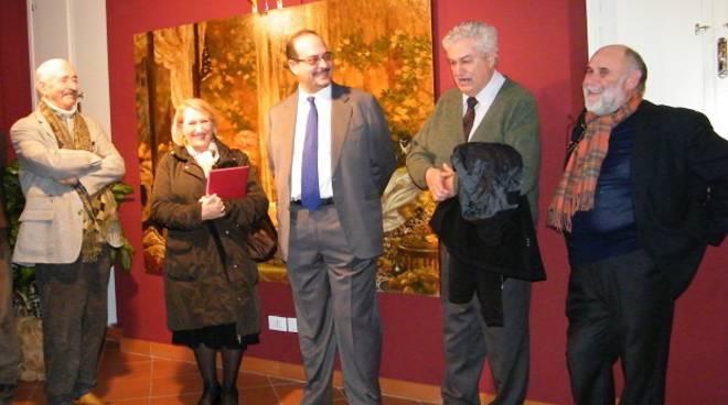 mostra Fabula di Saliola, Rosy Guarnieri con Jerry Delfino