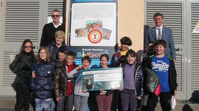 premiazione ipercoop scuole campochiesa