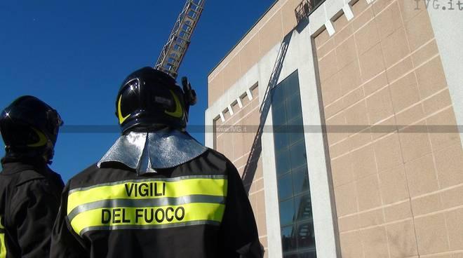 Savona allarme incendio all'Ipercoop